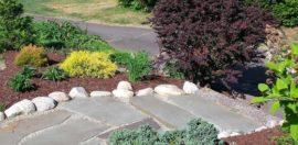 Walkway & Plantings - Cindy S.