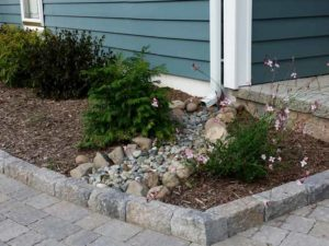 Encore Landscaping - hardscapes & stonework - channeling water
