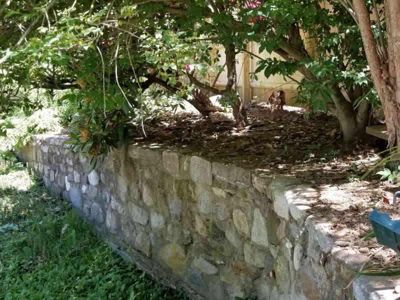 Verney Walls, Patio and sidewalks